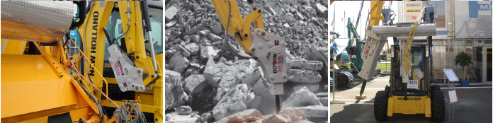 Hydraulic demolition equipment in Korea | Dowin International Corp. | DW BL & SL Series